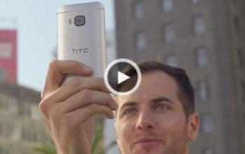 تبلیغ HTC One M9 لو رفت