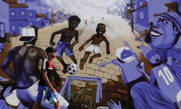 بازتاب جام جهانی فوتبال در نقاشیهای خیابانی در برزیل