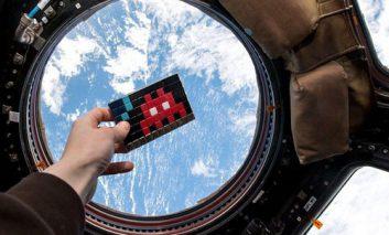 آثار هنری در فضا!