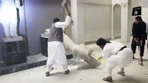تخریب آثار باستانی ۳۰۰۰ ساله عراق توسط گروه داعش