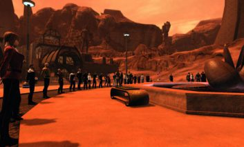 مراسم یادبود لئونارد نیموی در بازی Star Trek Online