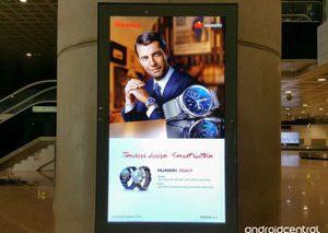 تبلیغی که اشتباهاً ساعت هوشمند Huawei را نشان داد