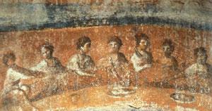 آیا دیوارنگارهای باستانی یک کشیش زن را به تصویر میکشد؟
