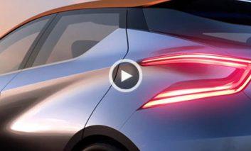 تبلیغ جدید نیسان برای اتومبیل کانسپت Sway