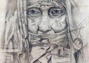 پناهندگان سوری نمایشگاه نقاشی برگزار میکنند