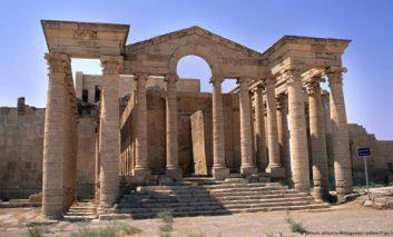 داعش شهر باستانی حضر را هم نابود کرد