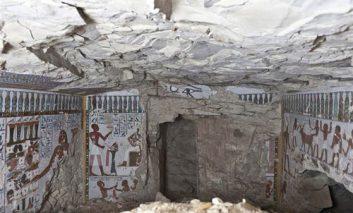 کشف مقبره ۳۰۰۰ ساله در الأقصر مصر