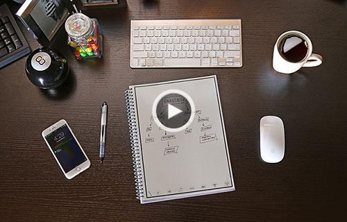 دفترچه یادداشتی که برگهایش تمام نمیشود