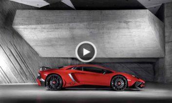 ویدئوی لامبورگینی Aventador Superveloce