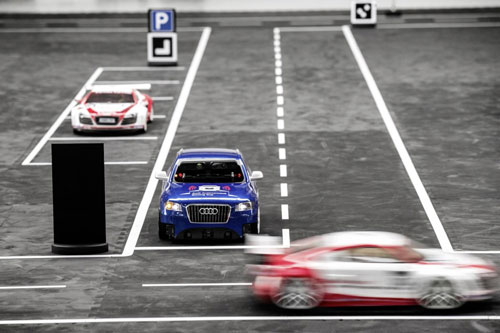 مسابقه برنامهنویسی اتومبیلهای خودران کوچک آئودی