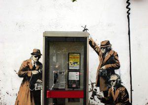 گرافیتی دیواری بنکسی، مایه دردسر صاحبان ساختمان