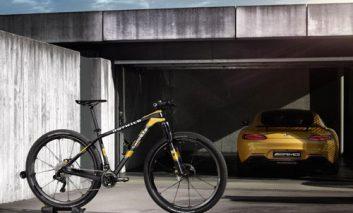 ساخت یک دوچرخه فیبر کربنی با الهامپذیری از یک اتومبیل مرسدس بنز