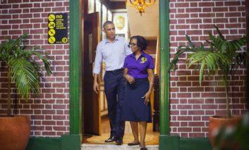 بازدید باراک اوباما از موزه باب مارلی