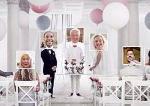 شرکت ایکیا مراسم عروسی آنلاین برگزار میکند!
