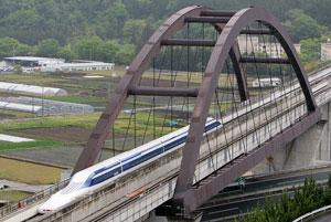 شکست رکورد سرعت جهان توسط قطار مگلو ژاپن