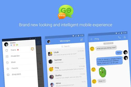 GO SMS Pro برنامهای برتر برای مدیریت پیامکها