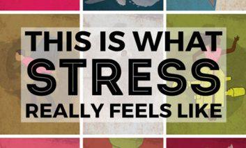 ظاهر فیزیکی استرس