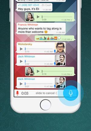ارائه قابلیت تماس صوتی WhatsApp در iOS