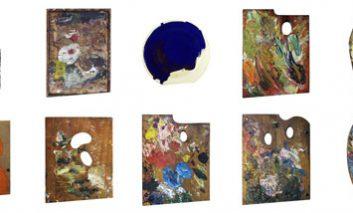 پالت هنرمندان: نشانی از شخصیت و سبک آنها