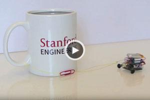 روبات کوچکی که صدها برابر وزن خود را میکشد