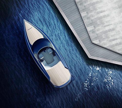 ساخت قایق تفریحی توسط Aston Martin