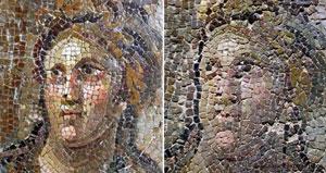 مرمت ناشیانه آثار باستانی در ترکیه، آنها را از شکل انداخت