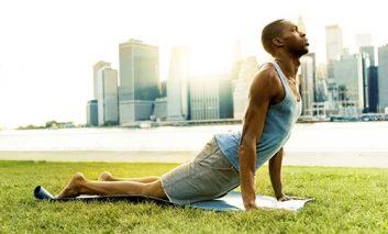 حرکت یوگایی برای افزایش تعادل و تمرکز