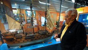 کشتی شکسته انگلیسی، بعد از ۲۵۲ سال از زیر آب خارج میشود