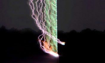 دانشمندان اولین عکس «برق» را ثبت کردند
