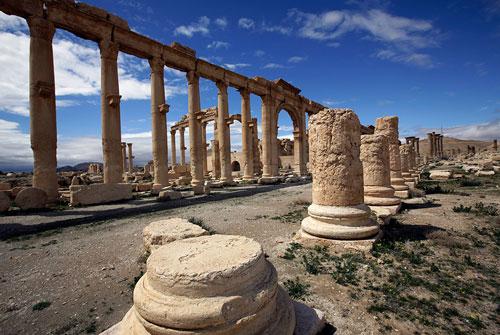 شهر باستانی پالمیرا، در خطر نابودی