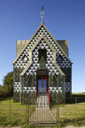 خانهای که هنر و معماری را در هم میآمیزد!