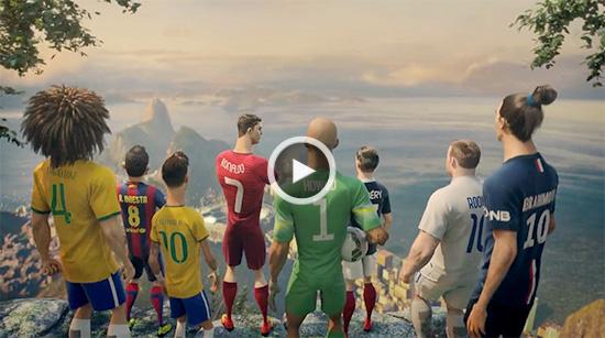 انیمیشن شرکت نایک با موضوع فوتبال