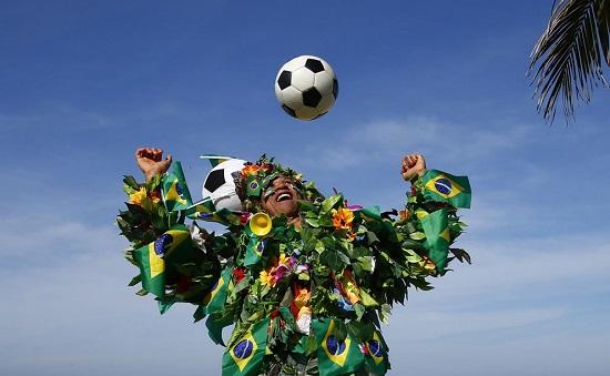 آمادگی برزیل برای جام جهانی ٢٠١۴