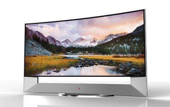 الجی اولین تلویزیون ۱۰۵ اینچ ULTRA HD منحنی دنیا را در CES 2014 معرفی میکند