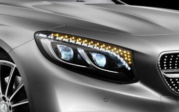 S 500 Coupe ، تندیسی از الماس