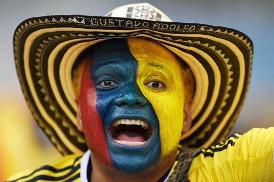 ٣-٠؛ برد کلمبیا در برابر یونان