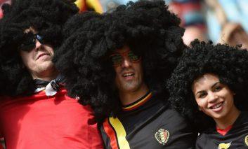 بلژیک با غلبه بر روسیه صعود کرد