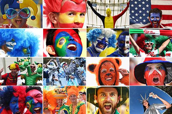 چهرههای جالب تماشاگران فوتبال به روایت فیفا (قسمت سوم)