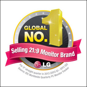 الجی برای حرفهایهای تصویر: اولین مانیتور ۳۴ اینچ IPS UltraWide در دنیا با نسبت تصویر ۲۱:۹
