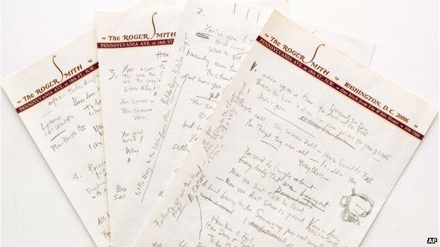 حراج دستنویسهای «باب دیلان»