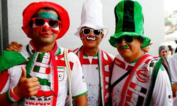 طرفداران تیم ملی ایران در برزیل؛ بازی حساس برای ایران