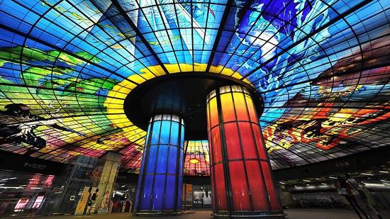 زیباترین ایستگاههای متروی جهان