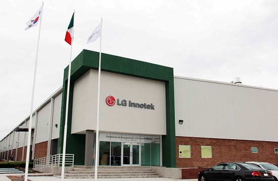 افتتاح اولین کارخانه فرامرزی قطعات خودرو در مکزیک توسط الجی اینوتِک