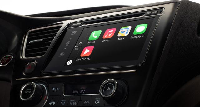 عضویت آئودی در دار و دسته حامیان CarPlay اپل