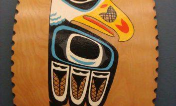 دزد اثر هنری با تابلوی هنری فرودگاه آلاسکا پرواز کرد