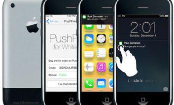 آپدیت آیفونهای قدیمی به iOS 7