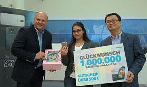 سامسونگ در آلمان یک میلیون گلکسی S5 فروخت!