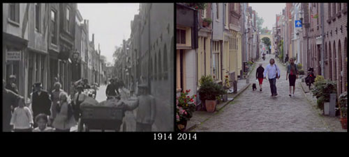 شهرهای اروپا در طول ۱۰۰ سال چقدر تغییر کردهاند؟ + ویدیو