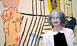 «رز وایلی» ۸۰ ساله، برنده جایزه نقاشی جان مورز
