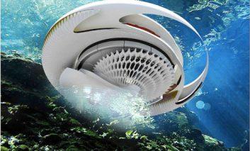 خانه هیدرو-الکتریک و تبدیل انرژی امواج اقیانوس به الکتریسیته